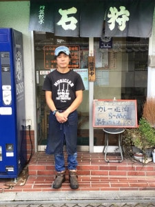 らーめん石狩の店主の平井さん